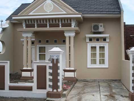Warna Cat Rumah Minimalis Klasik | Disain Rumah Mewah
