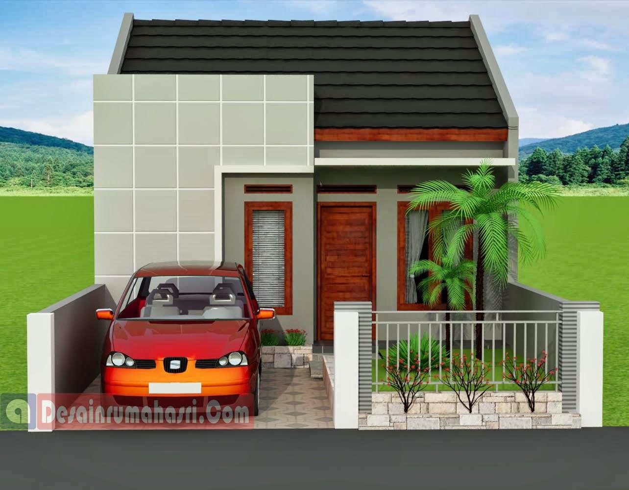 cat rumah minimalis kuning disain rumah mewah